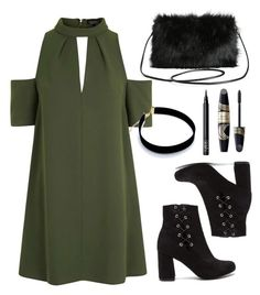 """Untitled #276"" by elenipanopoulou ❤ liked on Polyvore featuring Topshop, Torrid, Max Factor and NARS Cosmetics"