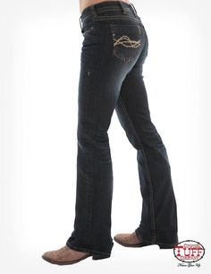 Jeans designed by a real cowgirl for the real cowgirl! Cowgirl Tuff jeans for women make the perfect everyday jean for riding or a night out. Cowgirl Tuff Jeans, Western Wear, Western Store, Jean Outfits, Skinny Jeans, Women's Jeans, Medium, Classic, Casual