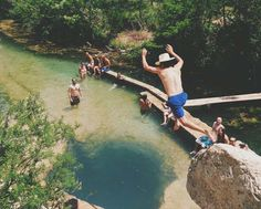 Top 10 Swimming Holes in Texas-- some of these are shockingly beautiful!!  Roadtrip anyone?