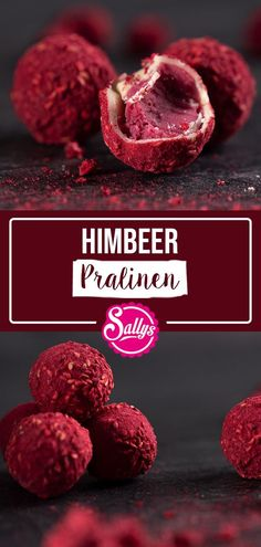 HIMBEER – PRALINEN / TRÜFFEL / SALLYS WELT In this recipe I will show you how you can easily and quickly make delicious chocolates yourself. You only need a few ingredients and a little sensitiv White Chocolate Truffles, White Chocolate Raspberry, Quick And Easy Soup, Healthy Soup Recipes, Few Ingredients, How To Make Chocolate, Delicious Chocolate, Toffee, Cookie Recipes