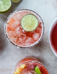 Strawberry-Bottomed Pineapple Margaritas | 25 Unusual Margarita Recipes That Will Get You Tipsy AF
