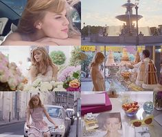 Maryna Linchuk for Miss Dior Chérie by Christian Dior x Sofia Coppola My favorite. Always and forever. Hm, I wonder if I could pull off bangs like that…