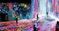 Immerse yourself in the teamLab Borderless, an artistic paradise housed within Tokyo's MORI Building DIGITAL ART MUSEUM. Book through Klook now. Japan Travel Guide, Tokyo Travel, Museum Of Modern Art, Art Museum, Japan Tourism, Tokyo Museum, Interactive Museum, Floating Lanterns, Guide Dog