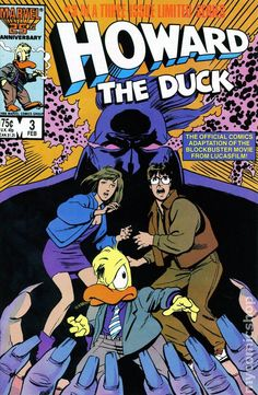 Howard The Duck Comic Books | Howard the Duck The Movie (1986) comic books