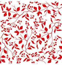 Floral seamless pattern vector - by lenny712 on VectorStock®