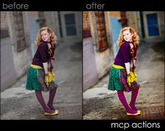 Angie Monson + Photoshop Actions For Photographers = Color Blueprint