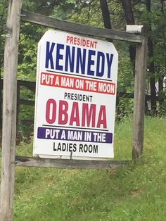 Yup he did! I would LOVE to have this sign in my front yard!! #Obama #sucks