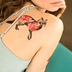 Sasha Unisex rose fox
