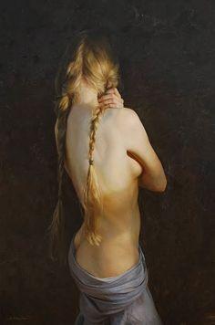 Por Amor al Arte: Los hermosos cuadro figurativos de Serge Marshennikov.