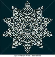 Traditional Persian-Islamic Pattern by Persian Graphics Studio, via Shutterstock