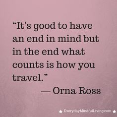 Thought for the Day: Ross
