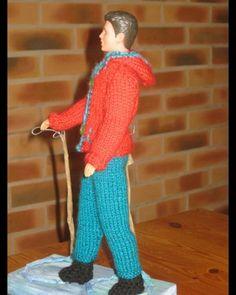 Manequin, Ken Doll, Leg Warmers, Blog, Crochet, Style, Fashion, Pom Poms, Barbie Outfits