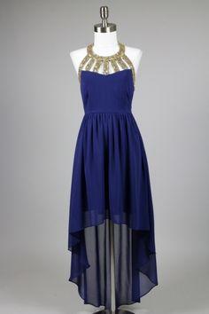 Twilight Delight Prom Dress in Navy Rent Prom Dresses, Prom Dress 2014, Little Dresses, Cute Dresses, Beautiful Dresses, Designer Party Dresses, Royal Blue Dresses, Costume Design, Dress To Impress