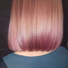 awesome Rose Gold Hair Inspiration: The Colour Of The Season...