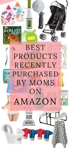 The Best Items that Moms Recently Purchased on AMAZON // Baby Registry Items that you need to have!