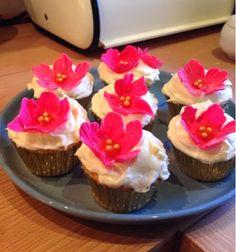 su's baking : piña colada cupcakes