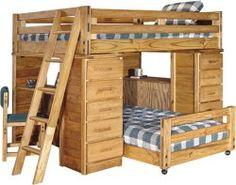 I need a bed like this for Rosemary and Victoria, only not a double on top.