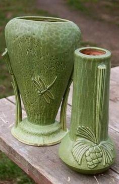 RARE 1930s 10 Art Deco Nude Vase Athena 570 Rumrill