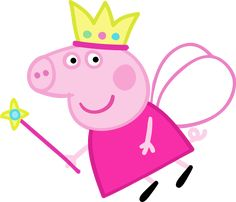 Peppa Pig Fairy: Free Party Printables, Images and Backgrounds. Peppa Pig Pictures, Peppa Pig Images, Peppa Pig Background, Peppa Pig Painting, Peppa Pig Printables, Party Printables, Peppa Pig Wallpaper, Cumple Peppa Pig, Peppa Pig Birthday Cake