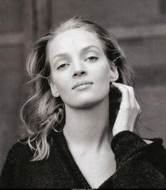 Uma Thurman, por Annie Leibovitz, 1999