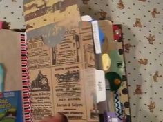 Flip Through: Interactive Junk Journal for Kelly