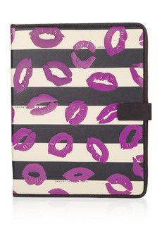 Marc by Marc Jacobs Lip-print iPad case
