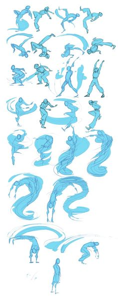 Once upon a time I thought I'd animate my character Li performing an original water bending form. Then I got half way through 'lining' the key frames and recovered my sanity. I was just looking thr...