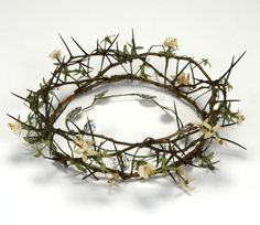 Title:    Crown of thorns : nun's ceremonial headpiece    Caption:     Crown of thorns : nun's ceremonial headpiece     ID Number:     2008.0222    This material may not be reproduced without prior written permission of The Historic New Orleans Collection