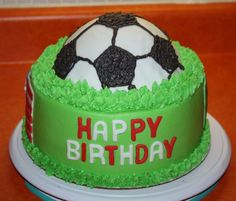 21+ Excellent Image of Soccer Birthday Cakes Soccer Birthday Cakes Soccer Cake Cake Ideas Pinterest Birthday Cake Cake And Birthday  #DiyBirthdayCake Birthday Cakes For Men, Toddler Birthday Cakes, Birthday Cake With Photo, 21st Birthday Cakes, Beautiful Birthday Cakes, Boy Birthday, 21st Cake, Football Birthday, Teen Cakes