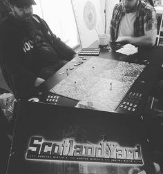 Today we play Scotland Yard  . . . #BGG #BoardGameGeek #PlayToWin #Games #LunchtimeFun #Fun #TuesdayMotivation #Game #GameStudio #Gaming #Games #TableTopGaming #Gamer #GameDevelopment #GamesAtLunch #Lunch #StudioFun #BoardGame #BoardGames #GameDev #GameGeek #ProgrammersLife #GameLife #GameLove #TableGaming #TableTopGames