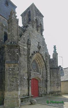 l'église de Landaul. Bretagne