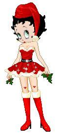 Coisas para o Natal: Gifs da Betty Boop de Natal