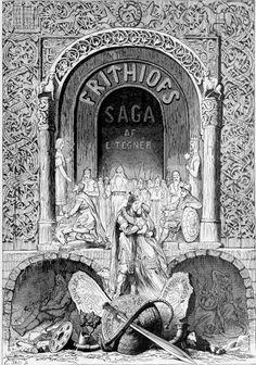 художник Иоганн Август Мальмстром, иллюстрировавший поэму «Сага о Фритьофе», самое знаменитое произведение шведского поэта Эсайаса Тегнера, впервые изобразил героев Скандинавии в доспехах и рогатых или крылатых шлемах. XIX век