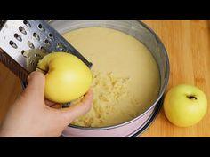 3 oua si 2 mere! Niciodată nu am avut un tort atât de delicios! super moale și foarte ușor - YouTube Gateaux Cake, Easy Youtube, Apple Cake, Empanadas, Apple Recipes, Yummy Cakes, Oatmeal, Deserts, Sweets