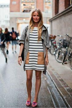 I lvoe the Stripes dress