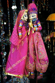 Indian Crafts, Indian Art, Rajasthani Art, Rajasthani Painting, Puppet Show, India Culture, Rajasthan India, Jaipur, Incredible India