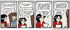 PHD Comics. Also true for faculty writing articles and books....