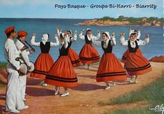 Costumes du Pays Basque