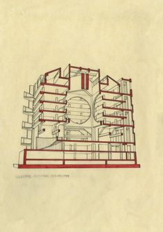 Exeter Library - Louis Kahn – CAD Design | Free CAD Blocks,Drawings,Details