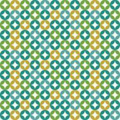 Diamonds in circles fabric by ebygomm on Spoonflower - custom fabric