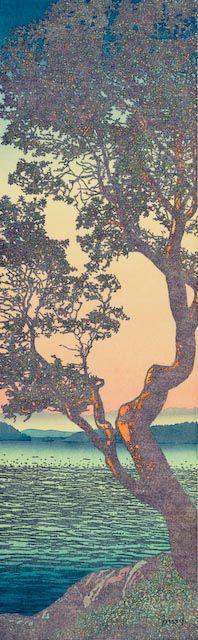 The art of James Hardman - view his paintings of the San Juan Islands in Washington. San Juan Islands, Woodblock Print, Tree Art, Pacific Northwest, North West, Dawn, Imagination, Laughter, Condo