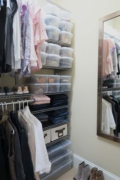 The easiest to install and organize everything closet system!