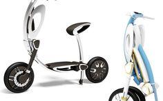 Presentato INU, scooter ripieghevole ed elettrico per uso urbano #scooter #scooterelettrico #ripieghevole