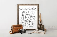 Garth Brooks printable art Shameless lyrics by HeartOfLifeDesign