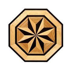 Hardwood flooring Floor Medallion Inlay-So pretty - Google Search