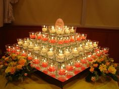 Diwali is around the corner and it is the time when we all become busy in the proper cleaning and decoration of home. Here with some cleaning tips and Home decor ideas for Diwali. Diya Decoration Ideas, Diwali Decorations At Home, Decoration Table, Flower Decorations, Wedding Decorations, Decor Ideas, Wedding Ideas, Trendy Wedding, Mandir Decoration