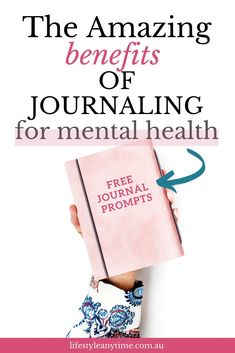 Discover the power of journaling. Journaling is a great way to improve mental health. This article includes tips on how to write a journal and daily journaling prompts to help you get started with journaling. Mental Health Journal, Improve Mental Health, Feelings And Emotions, Thoughts And Feelings, Stress Management Activities, Dealing With Stress, Work Life Balance, Mindful Living, Journal Prompts