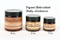 Sweet Face Minerals Inc. - Anti Aging Daily Moisturizer, $14.99 (http://sweetfaceminerals.com/anti-aging-daily-moisturizer/)
