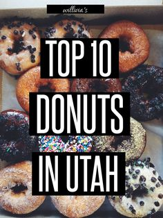 Someday I will visit all of these doughnut shops and I will get to try all of those delicious looking doughnuts. ~Sam
