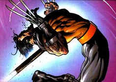 Ultimate Wolverine by Andy Kubert